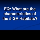 Habitats/Regions of Georgia Science PowerPoint