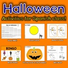 Halloween Song (Mp3) and Activities in Spanish