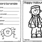Halloween Activity Book Freebie!