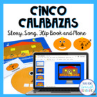 Halloween Activity Set - Cinco Calabazas