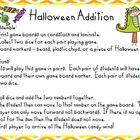Halloween Addition Game