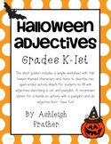 Halloween Adjectives Mini-Packet
