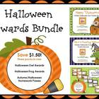 Halloween Awards Bundle