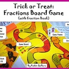 Halloween Board Game: {Trick or Treat Fraction Game for Ma