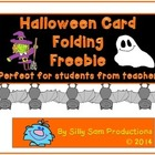 Halloween Card Freebie