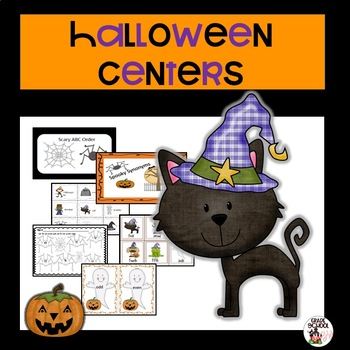 http://www.teacherspayteachers.com/Product/Halloween-Centers-833821
