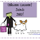Halloween Consonant Sounds SNAP!