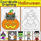 Halloween Coordinate Graphing Mystery Pictures - Ordered p