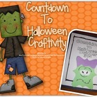 Halloween Countdown Craftivity with Frankenstein
