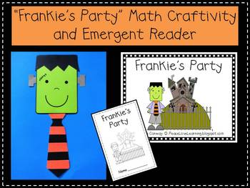 Halloween Craftivity & Emergent Reader Pack