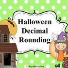 Halloween Decimal Rounding #2 - Rotation Cards