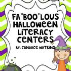 "Halloween Fa""boo""lous Literacy Activities"
