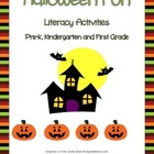 Halloween Literacy Centers and Activities Common Core Aligned