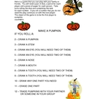 Halloween Game - Make a Pumpkin