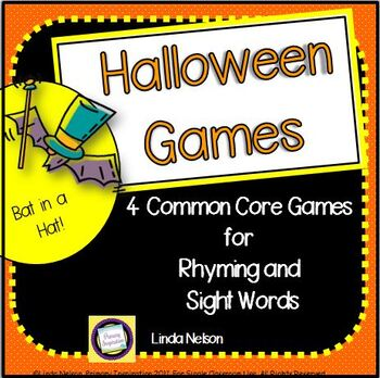 Halloween Games: Sight Words and Rhyming