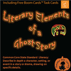Halloween PowerPoint FREE - Literary Elements of a Ghost S