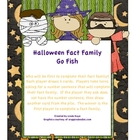 Halloween Go Fish Facts