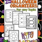 Halloween Graphic Organizers