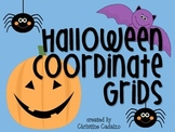 Halloween Coordinate Grid Activity