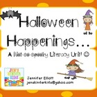Halloween Happenings Literacy Unit!!