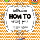 Halloween How-To Writing Pack