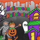 Halloween Hullabaloo – Literacy and Math Centers for Kinder