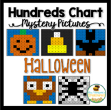 Halloween Hundreds Chart Mystery Picture Activities