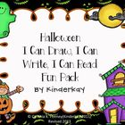 Halloween I CAN DRAW I CAN WRITE I CAN READ FUN PACK