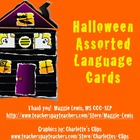 Halloween Language Card Set