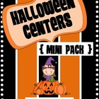 Halloween Literacy Centers {Mini Pack}