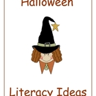 Halloween Literacy Ideas