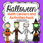 Halloween Math Centers and Activities {Common Core Aligned}