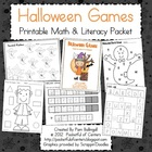 Halloween Math & Literacy Printable Packet