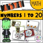Halloween Math Work Stations - Aligned to Common Core