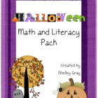 Halloween Math and Literacy Pack