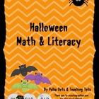 1st and 2nd Grade Halloween Math & ELA