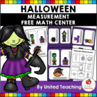 Halloween Measurement Math Center