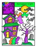 Halloween Night  {Creative Clips Digital Clipart}