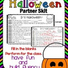 Halloween Partner Skit Activity