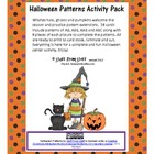 Halloween Patterns Activity Pack