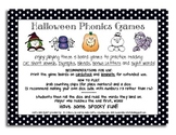 Halloween Phonics Board Games -- Simple and Direct