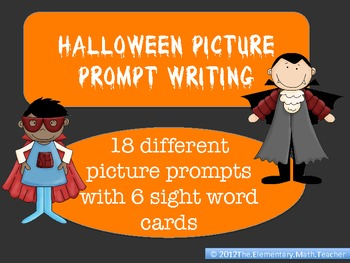 Halloween and October Writing Prompts:.