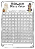 Halloween Place Value FREEBIE