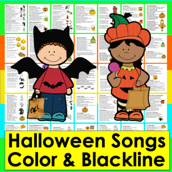 Halloween Poems and Songs for Shared Reading and Fluency