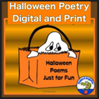 Halloween Poems and Fun Halloween Poem Writing Activity