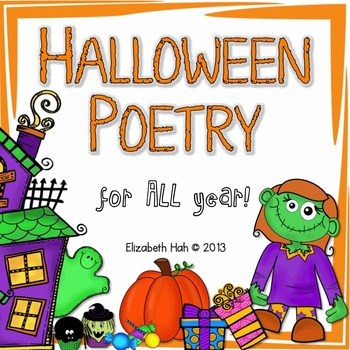 Halloween Poetry: for all year
