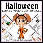 Halloween Quick Common Core Literacy (2nd grade)