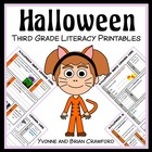 Halloween Quick Common Core Literacy (3rd grade)