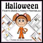 Halloween Quick Common Core Literacy (4th grade)