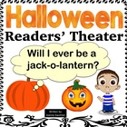 Halloween Reader's Theatre: Will I Ever be a Jack-O-Lantern?